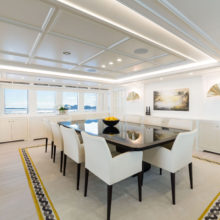 CODECASA 43-HULL C122-MAIN DECK DINING ROOM